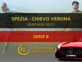 Spezia - Chievo Verona (03h00 ngày 02/11)