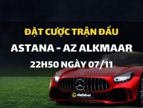 FC ASTANA - AZ Alkmaar (22h50 ngày 07/11)
