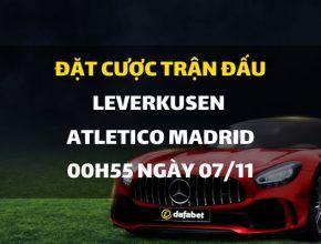 Bayer Leverkusen - Atletico Madrid (03h00 ngày 07/11)