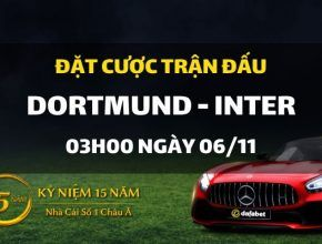 Borussia Dortmund - Inter Milano (03h00 ngày 06/11)