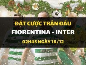 Fiorentina - Inter Milano (02h45 ngày 16/12)
