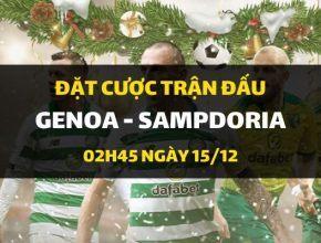 Genoa - Sampdoria (02h45 ngày 15/12)