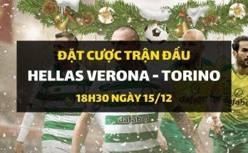 Hellas Verona - FC Torino (18h30 ngày 15/12)