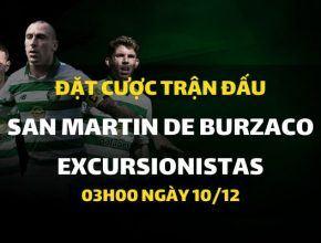 San Martin De Burzaco - Excursionistas (03h00 ngày 10/12)