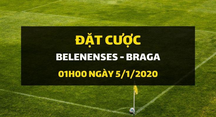 Belenenses - Sporting Braga