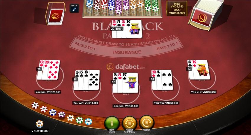 blackjack-dafabet