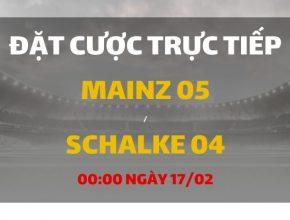 Mainz 05 - Schalke 04 (00h00 ngày 17/02)