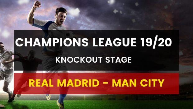 Dafabet gợi ý đặt cược Real Madrid vs Manchester City (27/02)