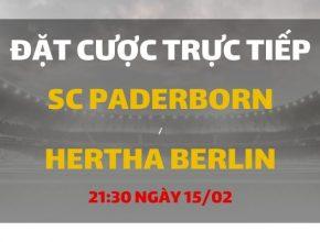 SC Paderborn - Hertha Berlin (21h30 ngày 15/02)
