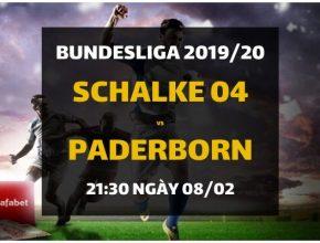 Schalke 04 - SC Paderborn (21h30 ngày 08/02)