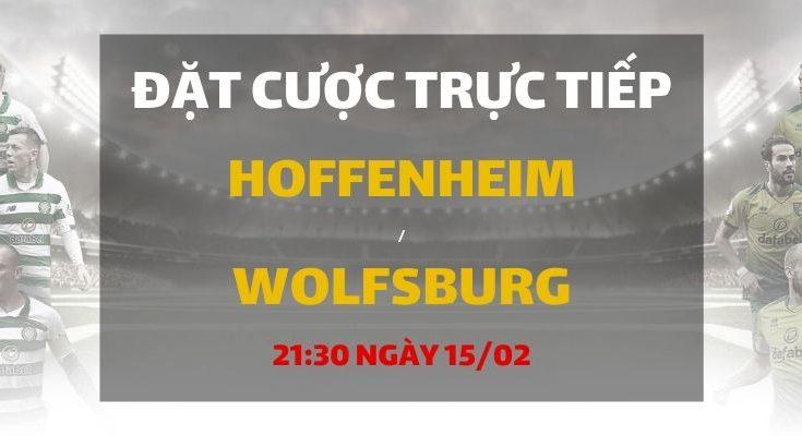 TSG Hoffenheim - VfL Wolfsburg (21h30 ngày 15/02)