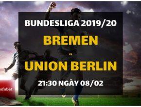 Werder Bremen - Union Berlin (21h30 ngày 08/02)